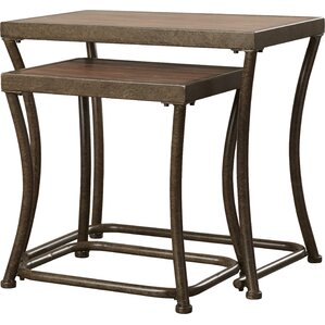 2-Piece Kathy Nesting Table Set