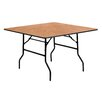 stakmore 32 quot square folding table reviews wayfair
