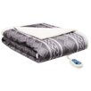 Serta Snuggler Electric Heated Cape And Throw Blanket
