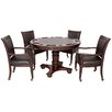 Bbo Poker Rockwell 8 Piece Poker Dining Table Set With