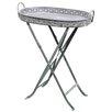 Alston Lucite Folding End Table Amp Reviews Wayfair