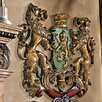 Design Toscano Heraldic Royal Lions Coat of Arms Wall Décor