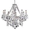 Endon Lighting 8 Light Classy Crystal Chandelier