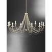 Franklite Philly 12 Light Candle Chandelier