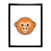 Star Editions Animaru Monkey Framed Graphic Art