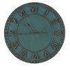 Besp-Oak Furniture 72cm Iron Roman Numerals Clock
