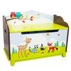Fantasy Fields Sunny Safari Kids Bench With Storage