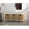 dCor design Ostra Storage Hallway Bench
