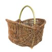 Castleton Home Small basket with a handle