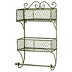 Castleton Home 2 Wall Basket with Rail