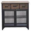 Castleton Home Davey 3 Drawer Cabinet