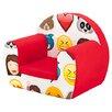 Castleton Home Emoji Children's Club Chair