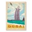 Americanflat Dubai by Anderson Design Group Vintage Advertisement