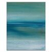Artist Lane Out to Sea by Karen Hopkins Art Print Wrapped on Canvas