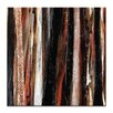 Artist Lane Treeline in Red #2 by Katherine Boland Art Print Wrapped on Canvas in Black/Brown