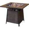 Plow Amp Hearth Propane Gas Fire Pit Table With Tile Mantel