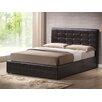 calligaris swami upholstered storage platform bed allmodern. Black Bedroom Furniture Sets. Home Design Ideas