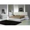 J Amp M Furniture Wave Platform Customizable Bedroom Set