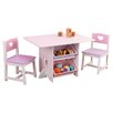 Viv Rae Justine Windsor 3 Piece Table And Chair Set By