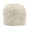 Mercer41 Whiston Faux Fur Stool Amp Reviews Allmodern