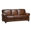 Amax aspen leather sofa reviews wayfairca for Aspen sectional leather sofa with ottoman reviews