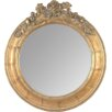 EMDÉ Shabby Elegance Roses Round Mirror