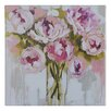 Lily Manor Plush Peony Canvas Wall Art