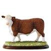 Enesco BFA Studio Hereford Bull Figurine