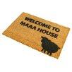 Artsy Doormats Welcome to Maaa House Doormat