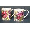 Just Mugs Buddy 6 Piece Tropical Garden Mug Set