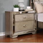 Andover Mills Adams 2 Drawer Nightstand Amp Reviews Wayfair