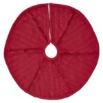 C Amp F Enterprises Berry Wreath Quilted Tree Skirt