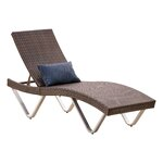 Brayden studio mathena adjustable chaise lounge reviews for Ashley san marco chaise