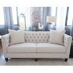 Three Posts Gardiner Sofa Amp Reviews Wayfair