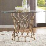 Global furniture usa dining table reviews wayfair for Linda platform customizable bedroom set