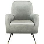 Darby Home Co Tinley Linen Sloped Arm Chair Amp Reviews