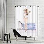 Thomas Paul Bath Cotton Octopus Shower Curtain Amp Reviews