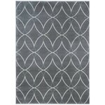 Zipcode Design Gray Circles Area Rug Amp Reviews Wayfair