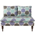 wodella medallion armless chaise lounge astaire linen chaise lounge