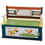 Levels Of Discovery Princess Kids Bench With Storage