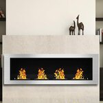 Anywhere Fireplaces Anywhere Fireplaces Soho Wall Mount
