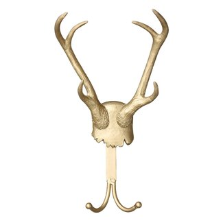 Creative Co Op Turn of the Century Antler Hook Coat Rack XRL.