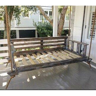 Modern Vintage Porch Swings Noah Porch Swing  AllModern