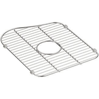 Kohler Staccato Stainless Steel Large Sink Rack for Left-Hand Bowl ...