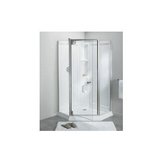 Sterling By Kohler Solitaire Frameless Neo Angle Corner Shower Kit Wayfair