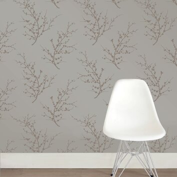 Tempaper Tempaper Edie Self Adhesive Removable Botanical