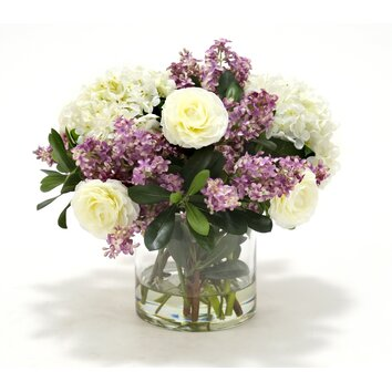 wayfair bathroom cabinets distinctive designs waterlook hydrangeas and lilacs with 15030