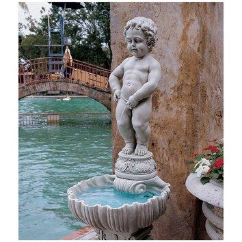 Design Toscano Manneken Pis Statue Amp Reviews Wayfair