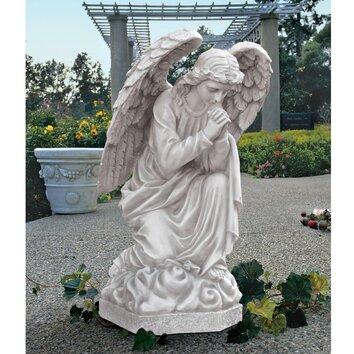Design Toscano The Praying Basilica Angel Statue Amp Reviews