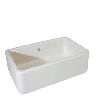 ... Shaw Farmhouse Sink Protector By Rohl Single Bowl Fireclay Apron Sink  Amp Reviews Wayfair ...
